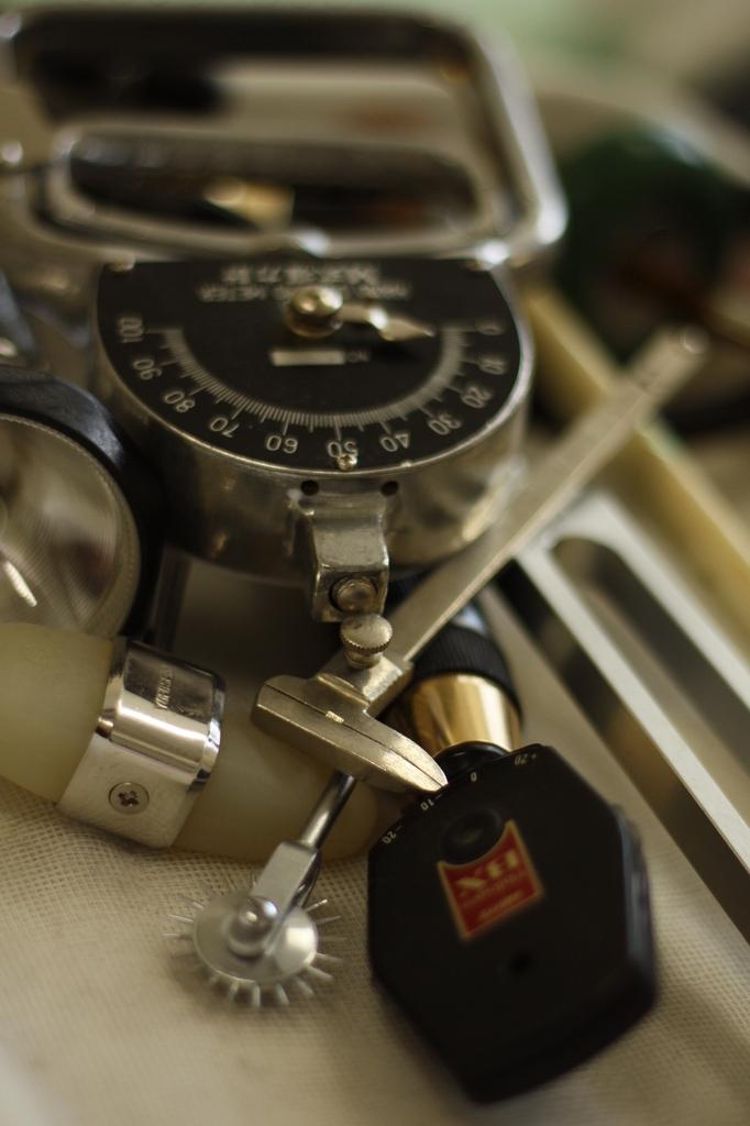診察器具たち