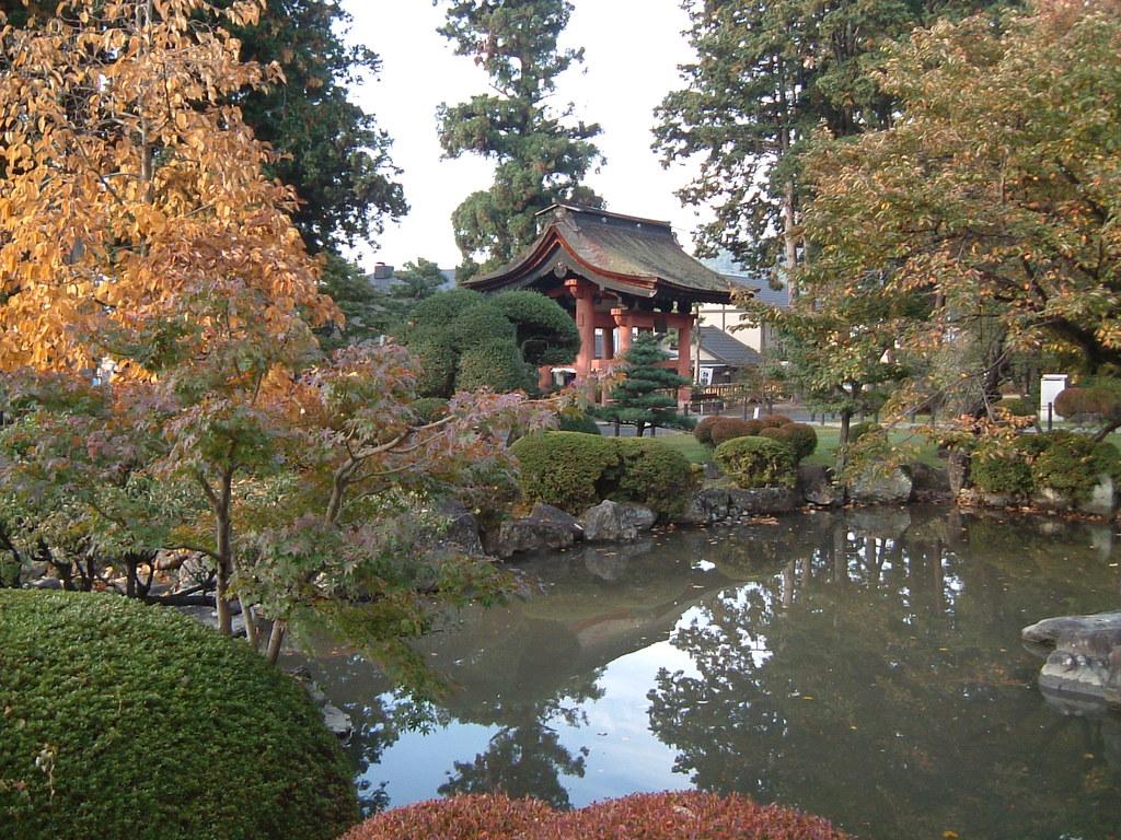 恵林寺の庭園