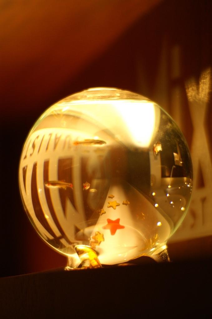 光と映り込み