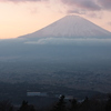 足柄城跡からの富士山