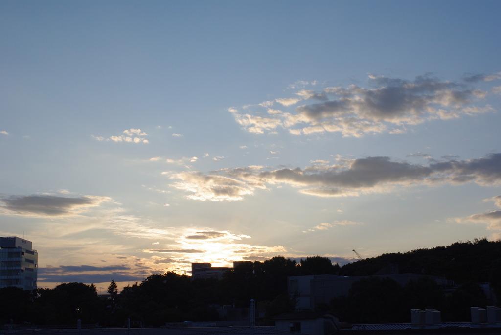 上野駅からの夕暮れ