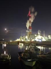 港の灯り-II