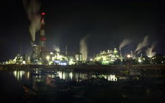 港の灯り-III