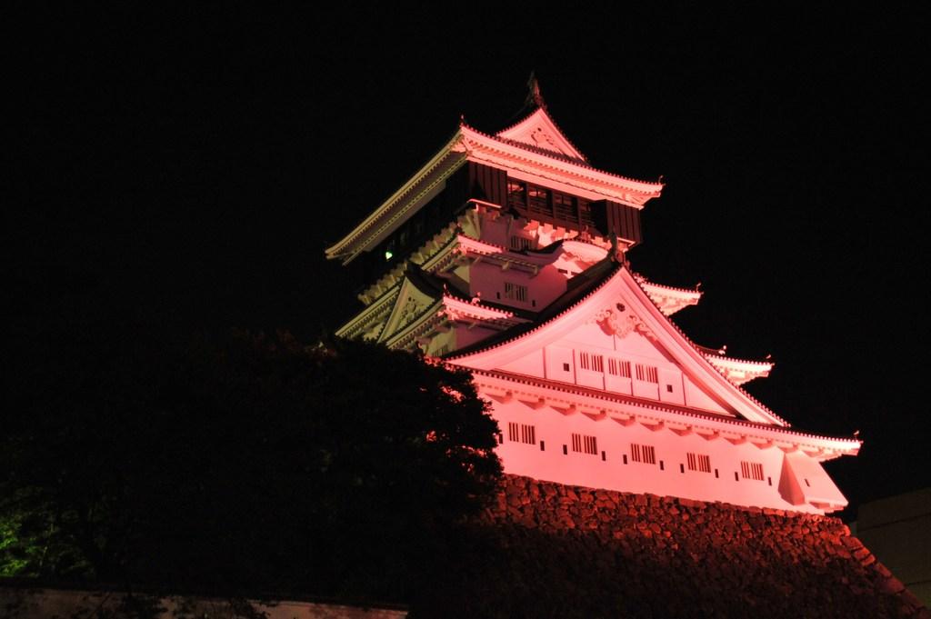 ピンクの城