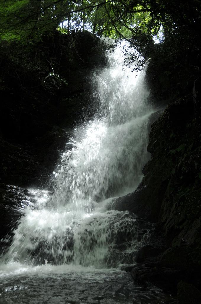 うきは市・斧渕の滝