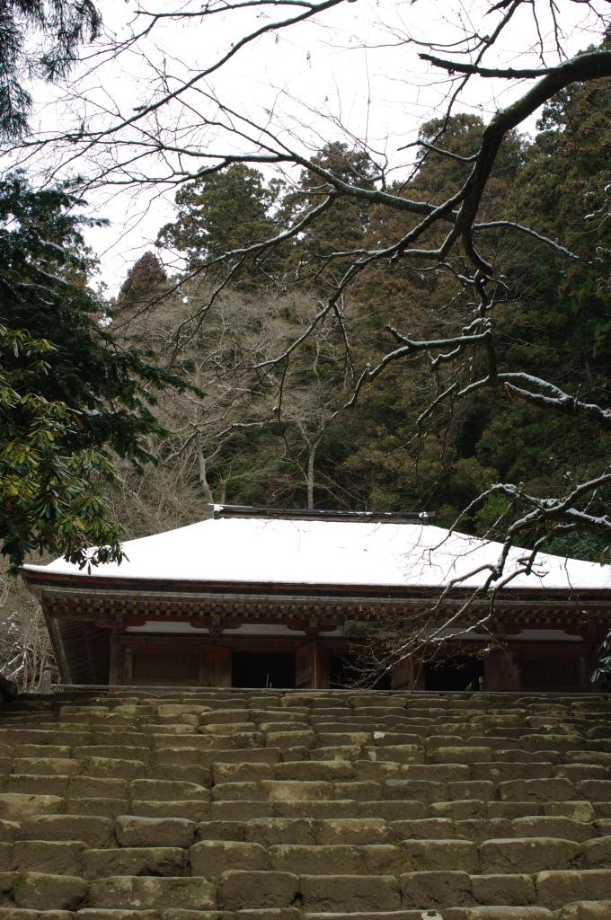 雪の室生寺