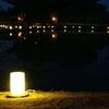 誘いの灯りと影~東大寺大仏殿と鏡池~