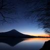 日の出前の静けさ。
