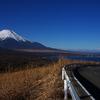 三国峠からの富士山。