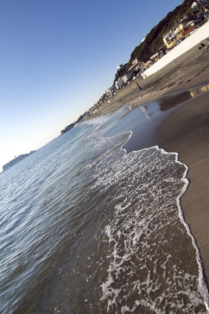 江ノ島の海岸線