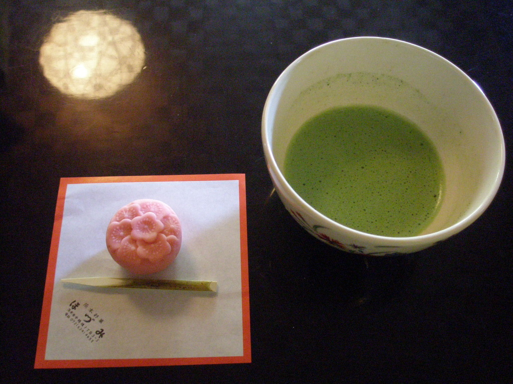 sweets & green tea