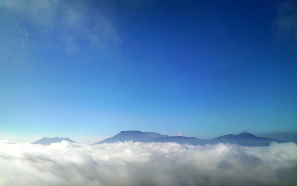 雲のベッド