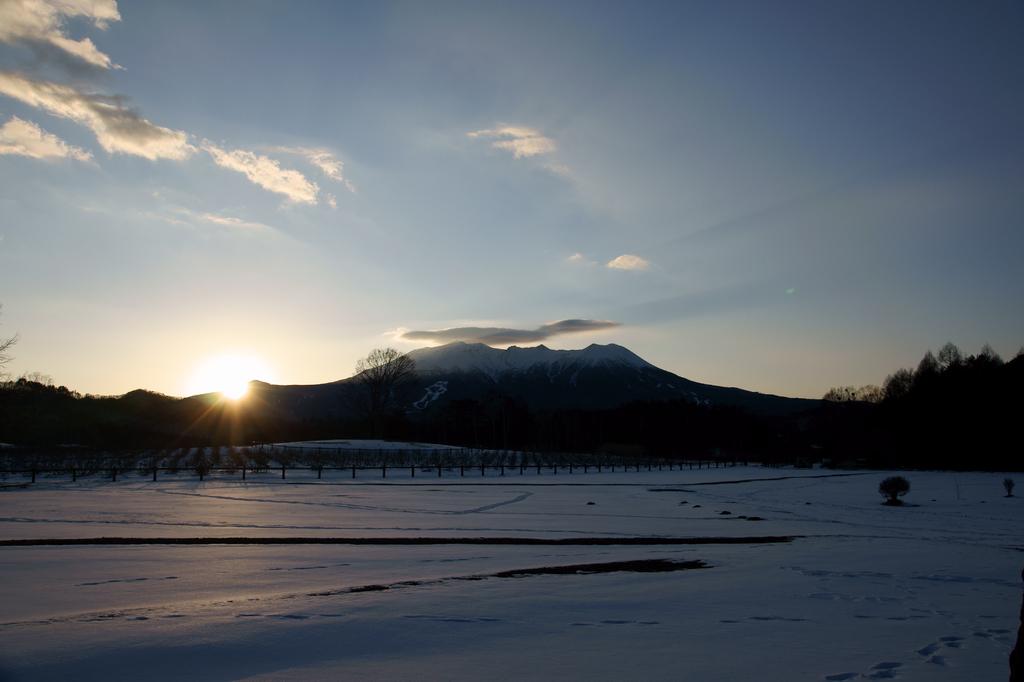 御岳の笠雲