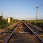 OLYMPUS E-420で撮影した(八高線線路)の写真(画像)