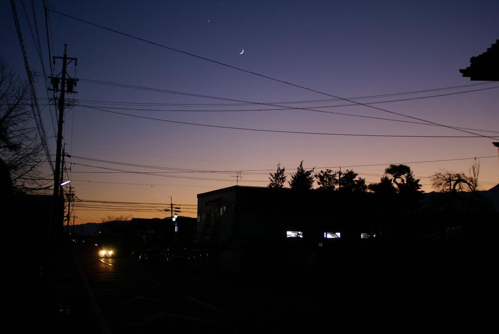 夜の光と陽の光