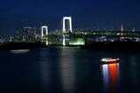虹橋と屋形船
