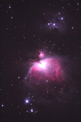 オリオン大星雲 M42 2011-12-25