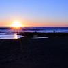 九十九里浜の夜明け1
