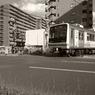 RICOH GR DIGITAL 2で撮影した乗り物(電車通り)の写真(画像)