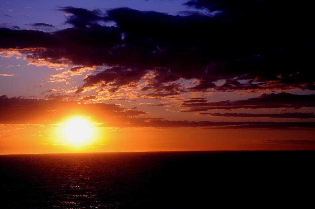 バルト海に沈む