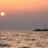 伊勢湾の夕暮れ