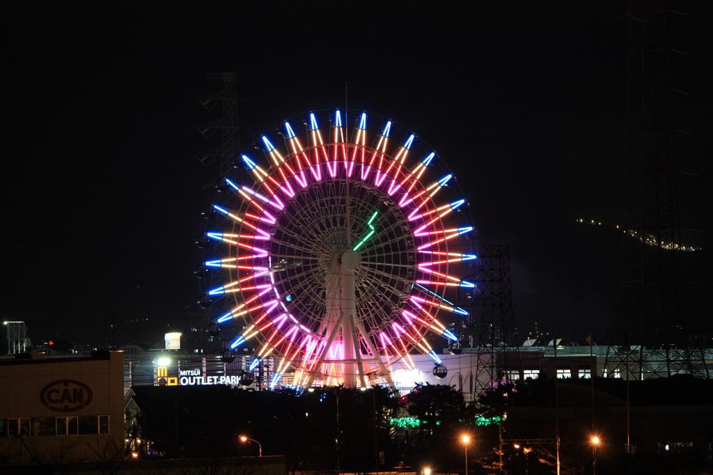 仙台港夜景