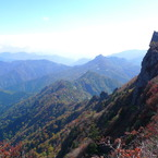 PANASONIC DMC-LX3で撮影した風景(石鎚山)の写真(画像)