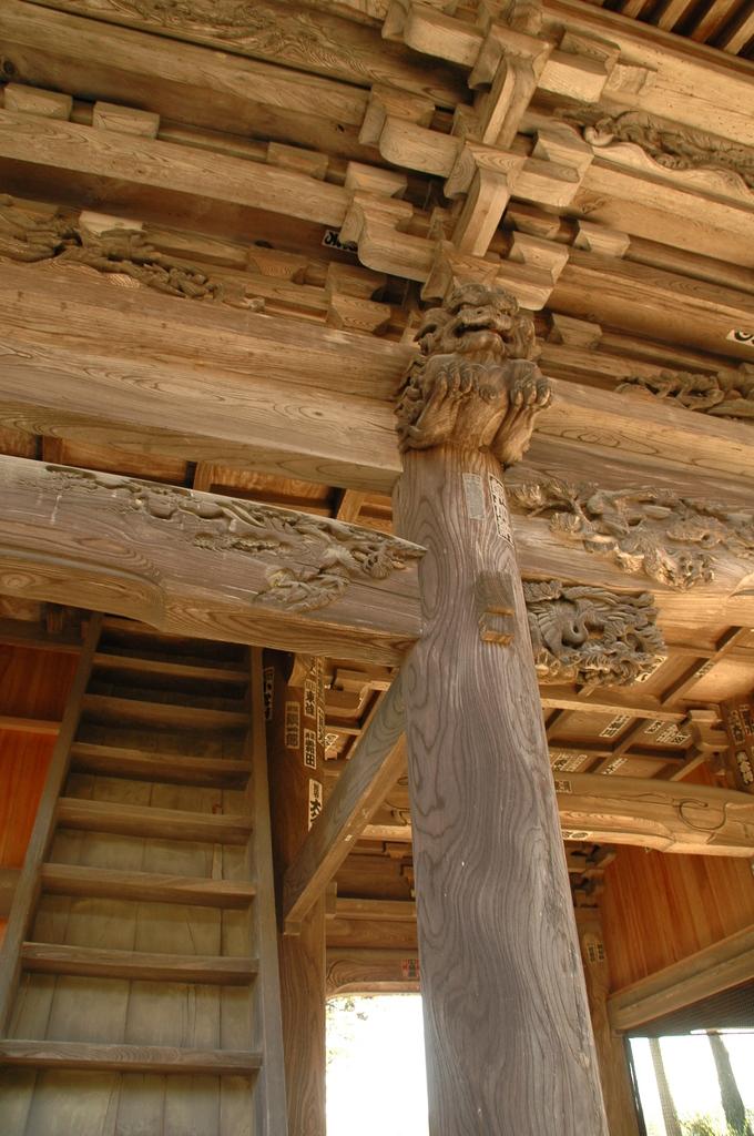 厚木 のお寺(山門)