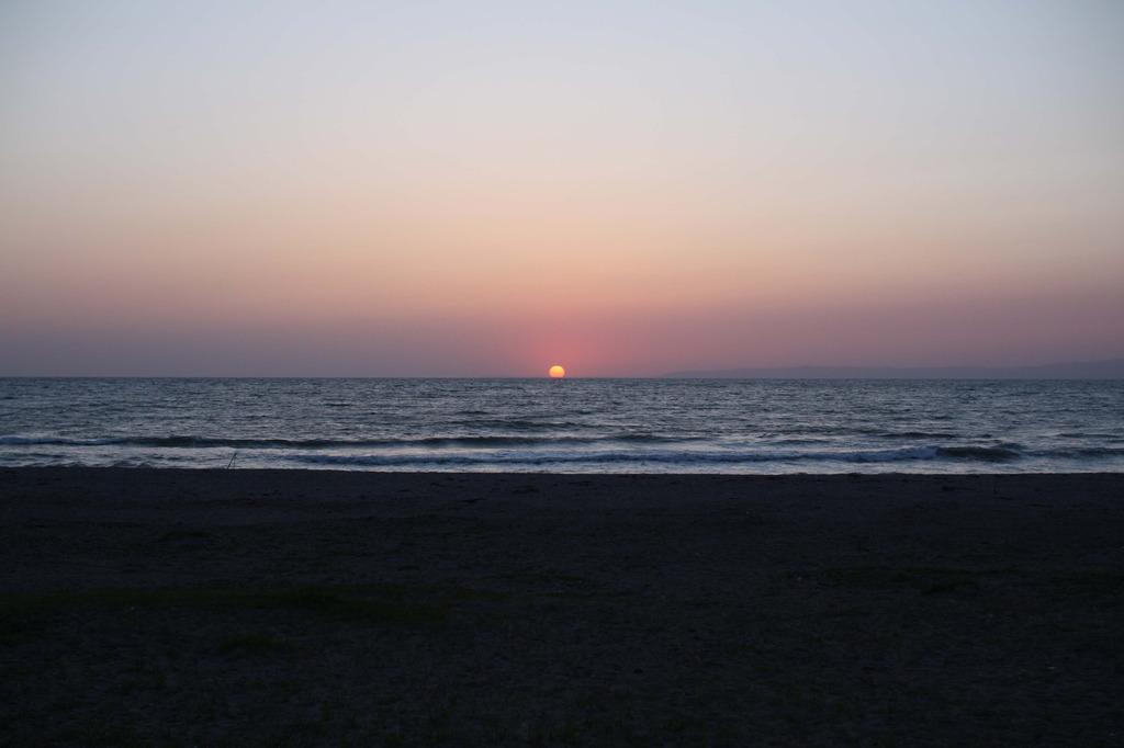 日本海の夕日・・・その2