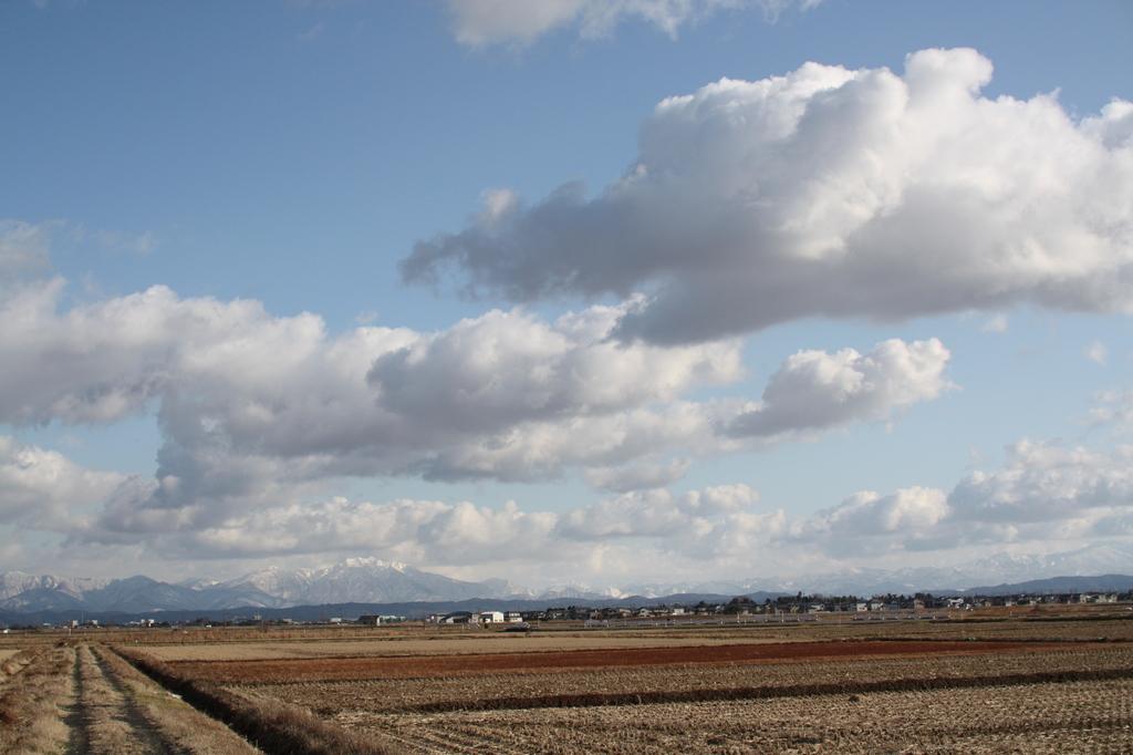 雲いっぱい