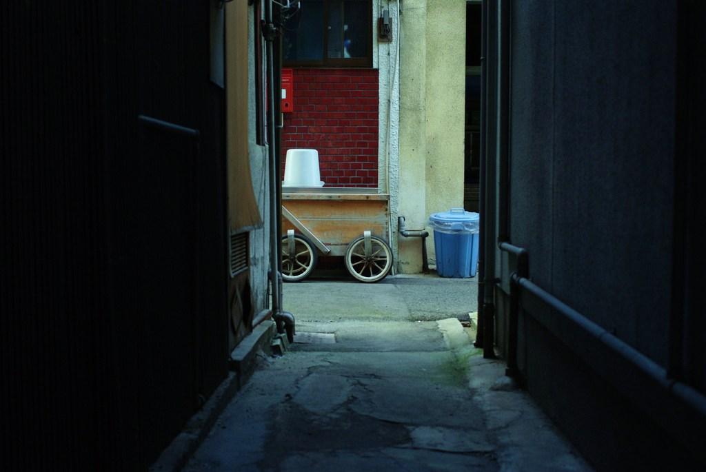 日本の路地