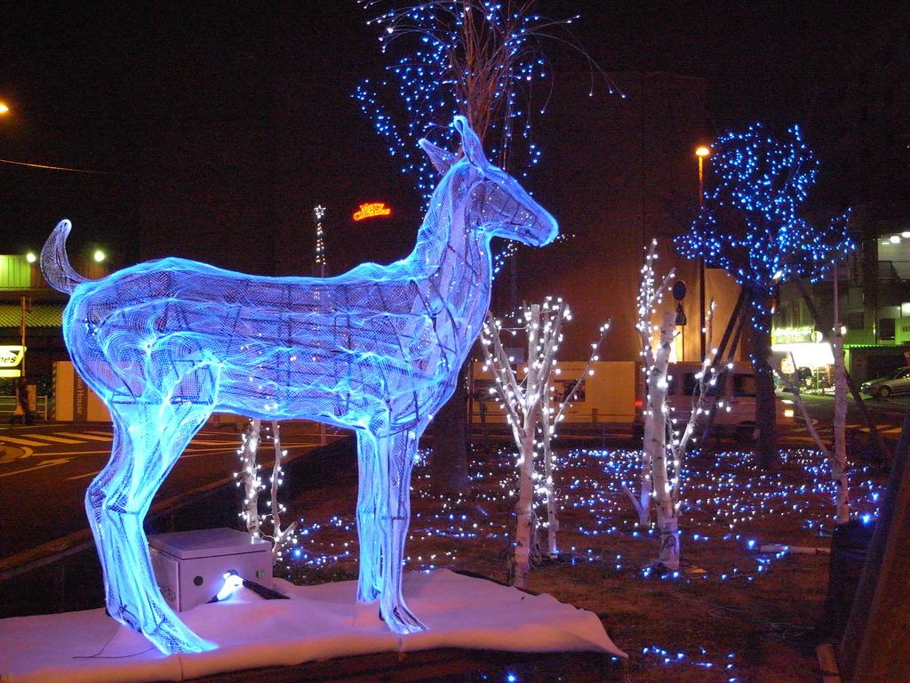 2008_1224GX200クリスマスオブジェ・ブルー