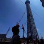 RICOH RICOH GX200で撮影した建物(東京スカイツリー・シルエット)の写真(画像)