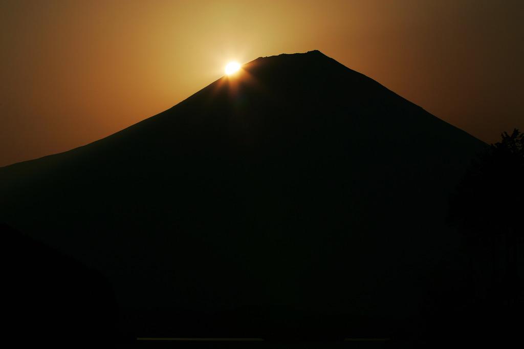 ダイヤモンド富士