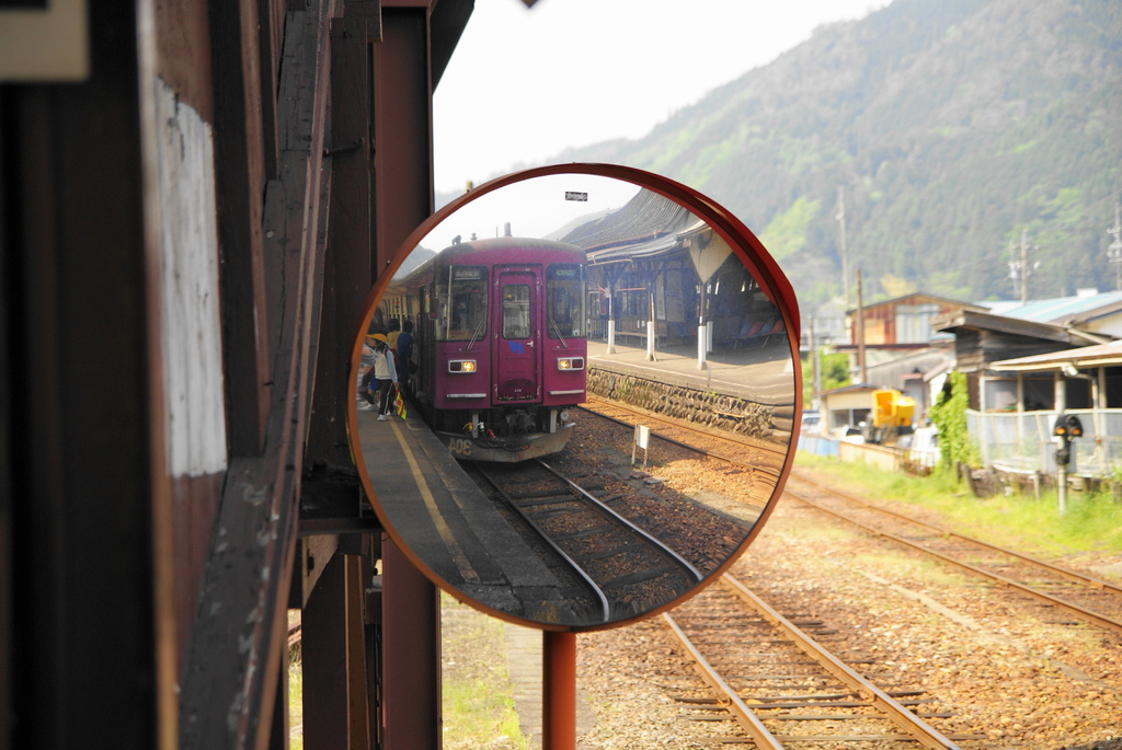鏡の中の世界