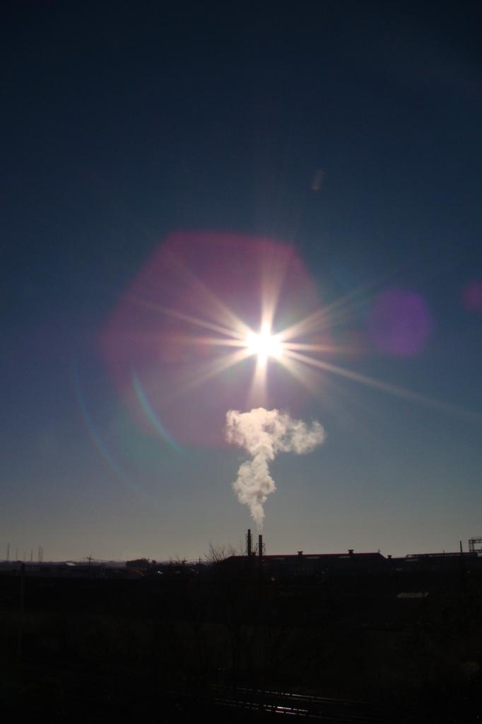 煙と太陽1