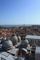 ヴェネチアの大鐘楼からの風景