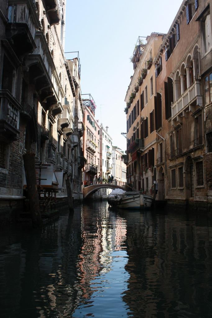 ヴェネチアのゴンドラから