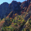 石鎚北面の秋