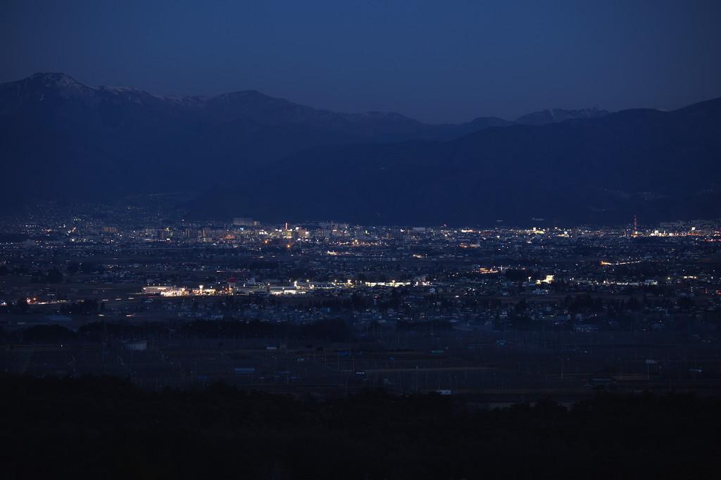 松本平夜景0363
