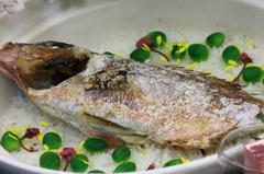 桜鯛のご飯