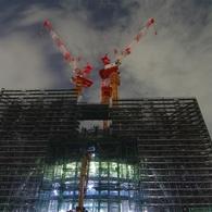 PENTAX PENTAX K20Dで撮影した建物(東京スカイツリー成長中(09.05.13))の写真(画像)