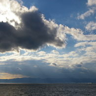 PENTAX PENTAX K100D Superで撮影した風景(錦江湾の午後)の写真(画像)