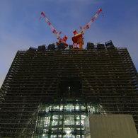 PENTAX PENTAX K-7で撮影した建物(東京スカイツリー成長中(09.07.06))の写真(画像)