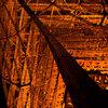 夜の鉄骨 (東京タワー)