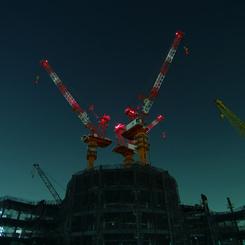 PENTAX PENTAX K20Dで撮影した建物(東京スカイツリー建設中(09.03.24))の写真(画像)