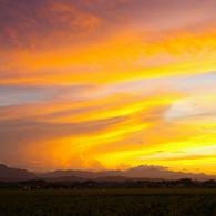 PENTAX PENTAX K100D Superで撮影した風景(夏の夕景)の写真(画像)