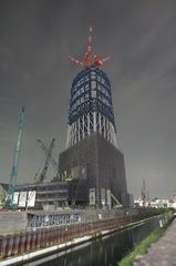 東京スカイツリー成長中(09.09.17)