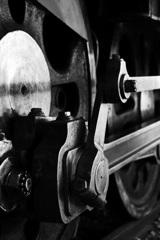 動輪とクランク