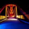 昇開橋のクローズアップ